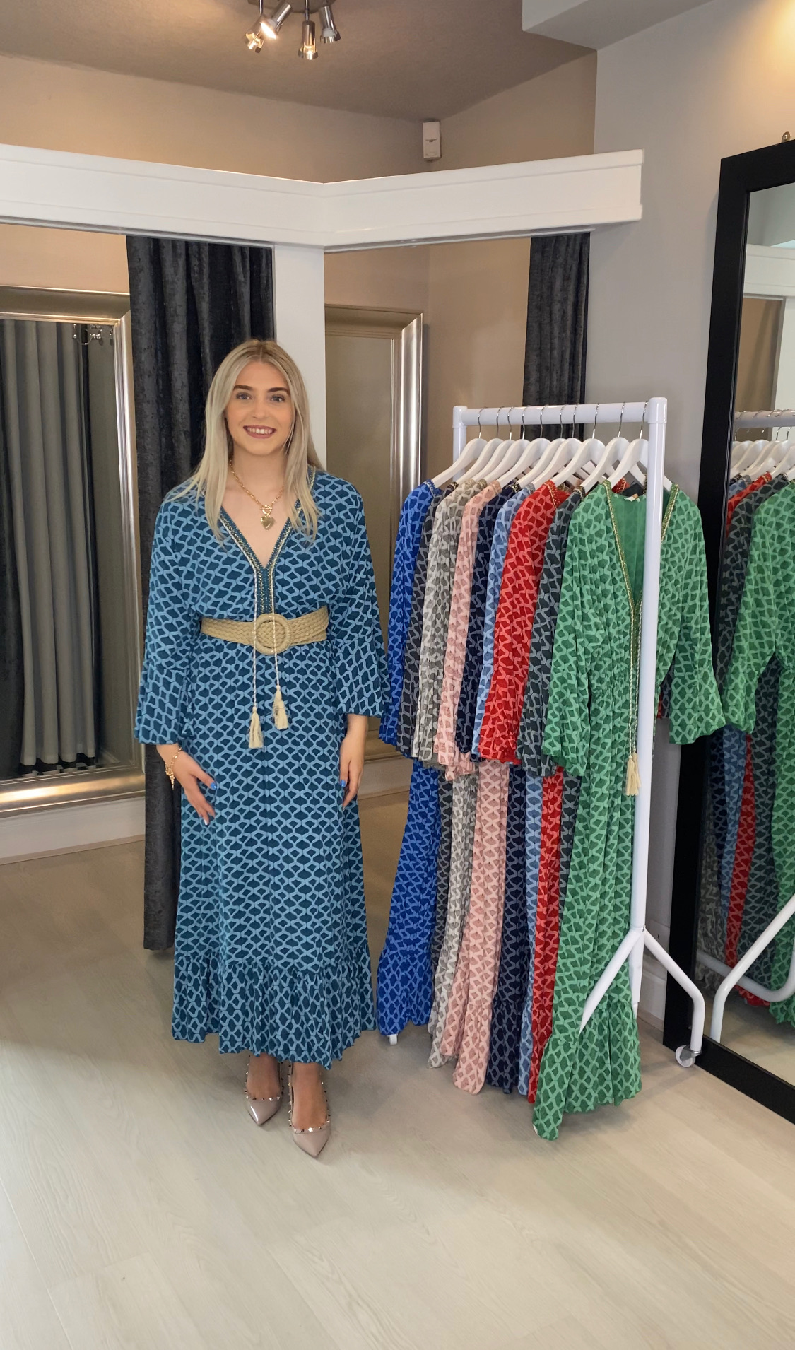 Maya Bell Sleeve Midi Dress Collection - 27th August
