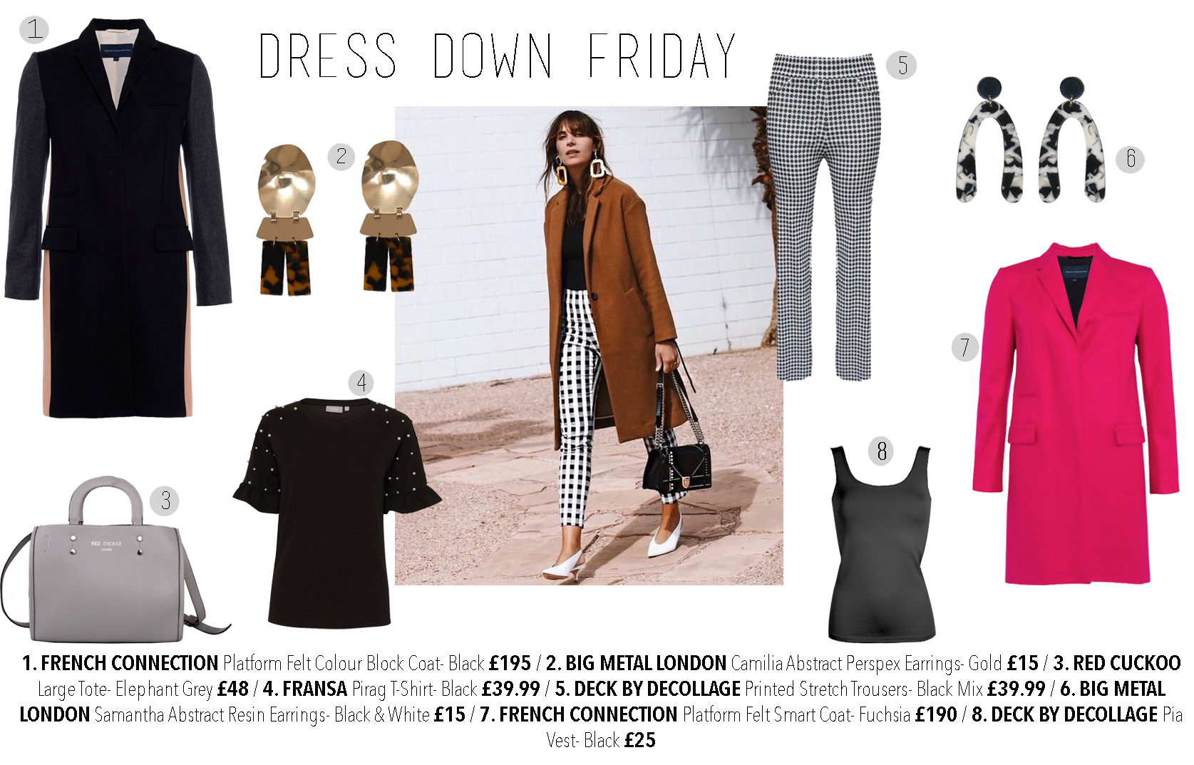 Dress down Friday