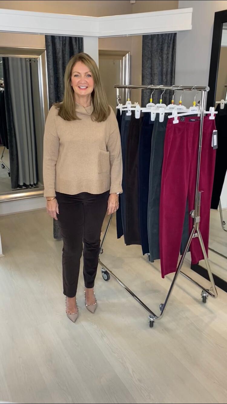 Robell Bella Petite Length Cord Trousers