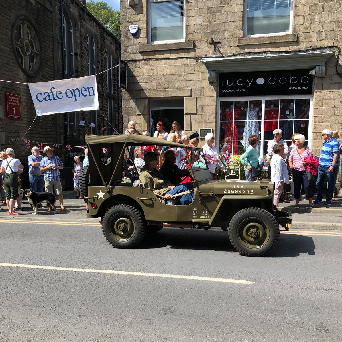 Sundays parade through the High Street