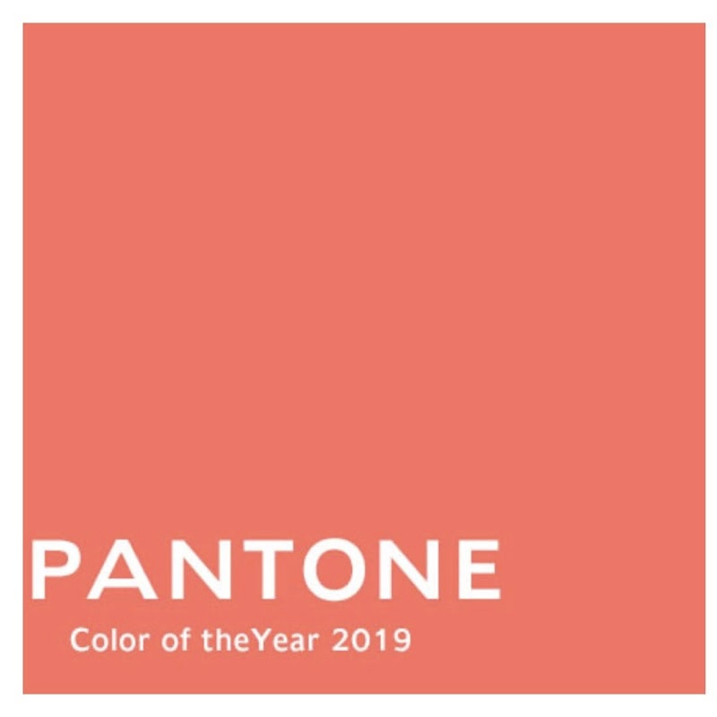 Pantone 2019 colour of the year
