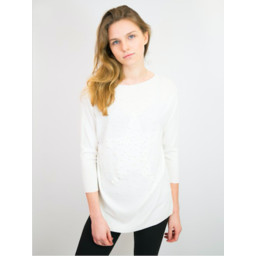 Lucy Cobb Penny Jumper  - Off-White