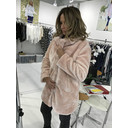 Tilly Fur Coat - Pink