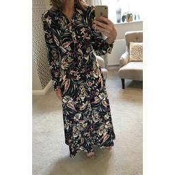 Lucy Cobb Morgan Maxi Dress - Navy