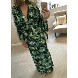 Lucy Cobb Ralphie Maxi Dress - Navy Mix