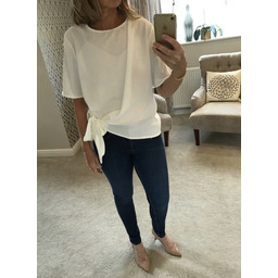 Lucy Cobb Penelope Top - White