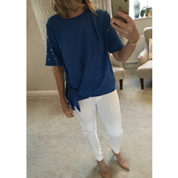 Lucy Cobb Penelope Top - Royal