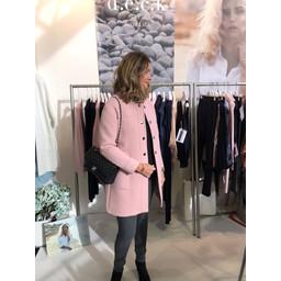 Deck Keely Coat - Blush Pink