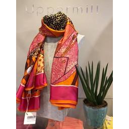 Malissa J Handbag Print Satin Scarf - Multicoloured