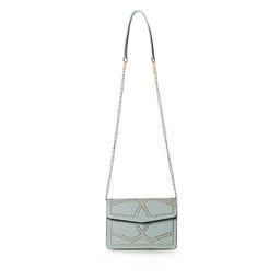 Malissa J Studded Cross Body Bag - Blue