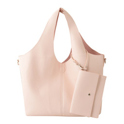 Lucy Cobb Slouch Bag in a Bag - Light Pink