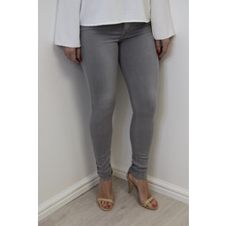 Lucy Cobb Toxik Skinny Jeans  in Light Grey