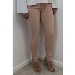 Lucy Cobb Toxik Skinny Jeans  in Dusky Pink