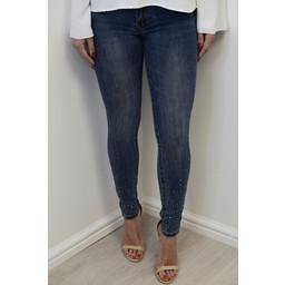 Lucy Cobb Toxik Sparkle Skinny Jeans  - Denim