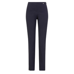 Robell Trousers Marie Full Length Trousers in Petrol