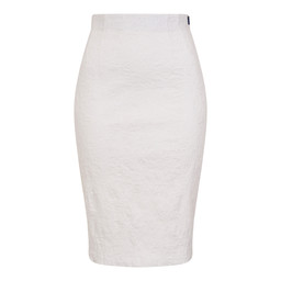 Robell Trousers Christy Jacquard Skirt in White