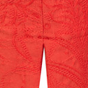 Rose 09 Jacquard Trousers - Tropicana Orange - Alternative 3