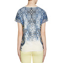 Feather Printed T Shirt - Blue - Alternative 2