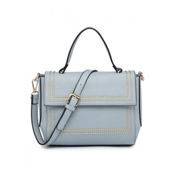 Lucy Cobb Stud Bag - Blue