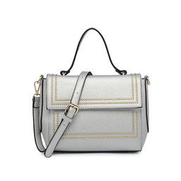 Lucy Cobb Stud Bag - Silver