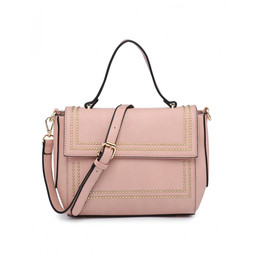 Lucy Cobb Stud Bag - Pink