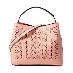 Lucy Cobb Laser Cut Bag - Pink