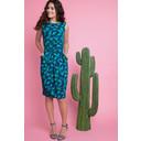 Luna Sleeveless Dress - Green - Alternative 1