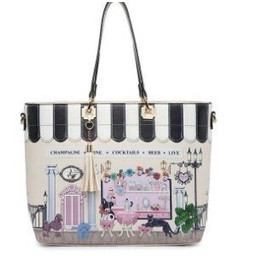 Lucy Cobb Parisian Shopper - White