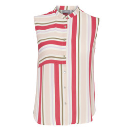 B Young Gabriele Striped Shirt - Multicoloured
