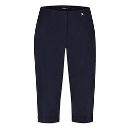 Robell Trousers Bella 05 Bermuda Shorts in Navy