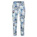 Bella 09 Floral Print - Blue