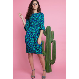 Onjenu Tammy Dress in Luna Green