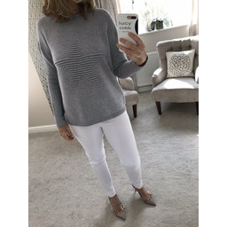 Lucy Cobb Star Jumper - Grey