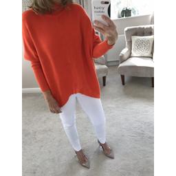 Lucy Cobb Jody Jumper - Orange