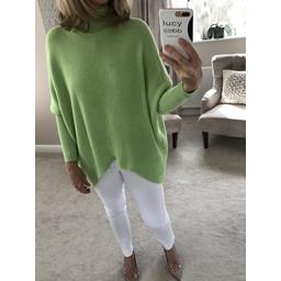 Lucy Cobb Jody Jumper - Lime Green