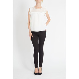 Lucy Cobb Kerry Blouse in Ivory