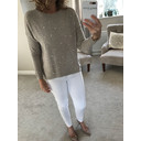 Velma Pearl Front Jumper  - Stone - Alternative 1