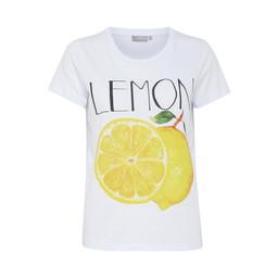 Fransa Nifruit T-shirt - Lemon