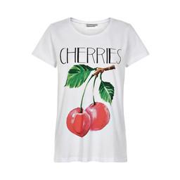 Fransa Nifruit T-shirt - Cherry
