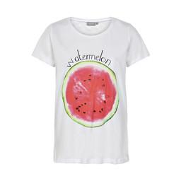 Fransa Nifruit T-shirt - Watermelon