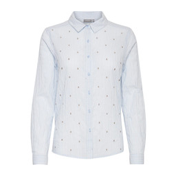 Fransa Naembro Shirt - Pale Blue