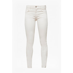 French Connection Rebound Skinny Jeans in Seeded Ecru