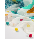 Sea you soon Silk Scarf - White Mix - Alternative 1