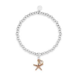 Lucy Cobb Irene Starfish Olia Bracelet - Silver