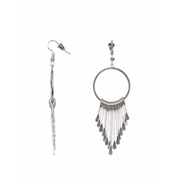 Lucy Cobb Vanessa Olia Earrings - Silver