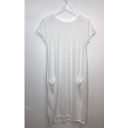 Lucy Cobb Taylor T Shirt Dress - White