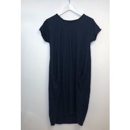 Lucy Cobb Taylor T Shirt Dress - Navy