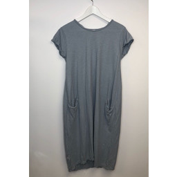 Lucy Cobb Taylor T Shirt Dress - Grey