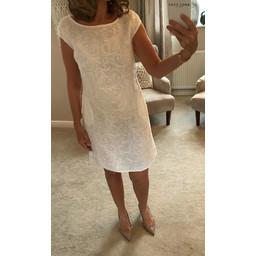 Deck Grace Dress - White