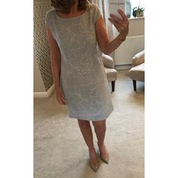 Deck Grace Dress - Pearl Grey